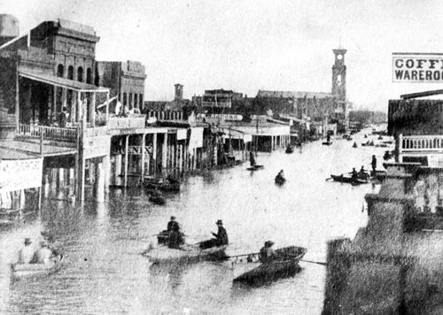 Sacramento in Flood